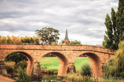 Richmond Bridge, Tasmania, Australia