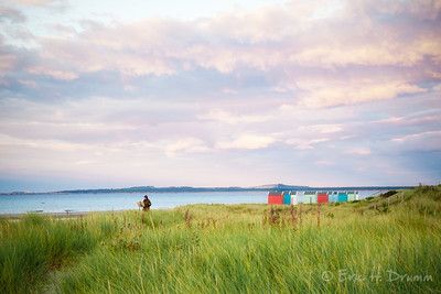 The Painter, Sunset at Findhorn, Scotland