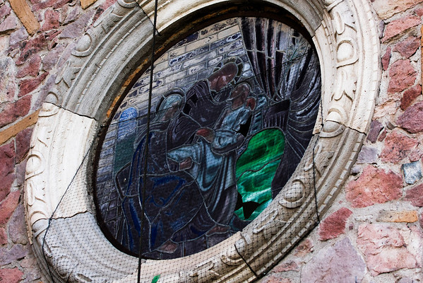 Jesus, Mary and The Space Alien comfort Lazarus - Puerto Vallarta, Mexico