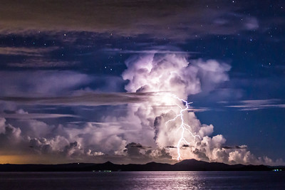 Lightning storm at Siargao