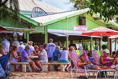 Hanging out at the Surfside, Holetown, Barbados