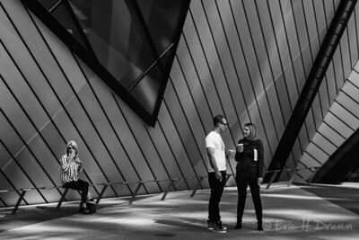Smoke Break, Royal Ontario Museum, Toronto,  Ontario