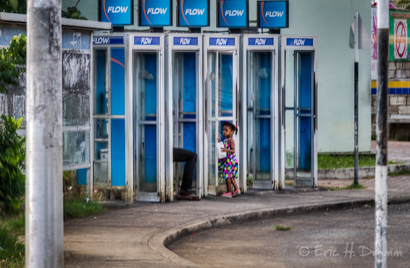 Going with the Flow, Bus Station, Bridgetown, Barbados
