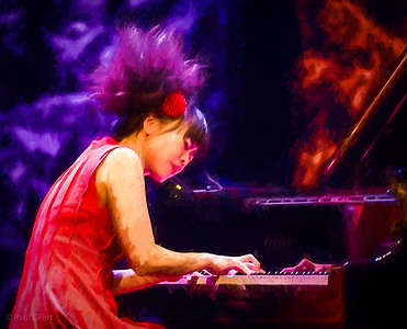 Hiromi performs at the Montreal Jazz Festival 2017