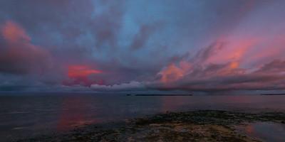 Sunset at General Luna