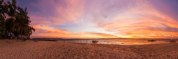 Guyam sunset view