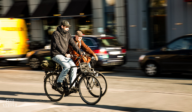 Bikers in Copenhagen 2019