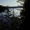Canoeing on Lake Hebron, Monson, Maine, USA