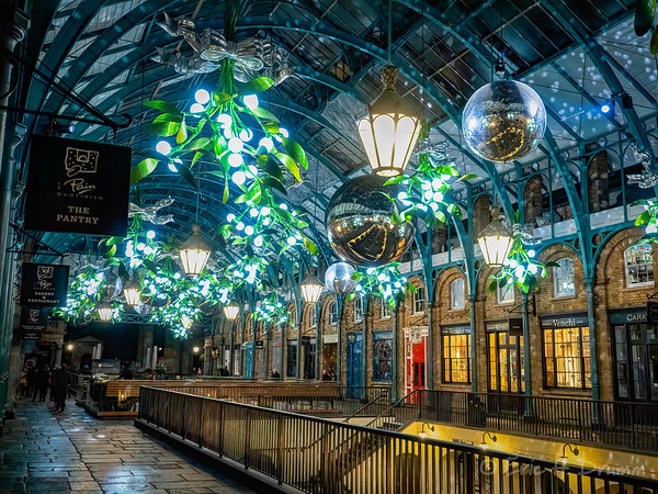 Dancing Lights, Covent Gardens, London, England