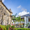 Two Solitudes, Holetown Church and Limegrove Mall, Barbados