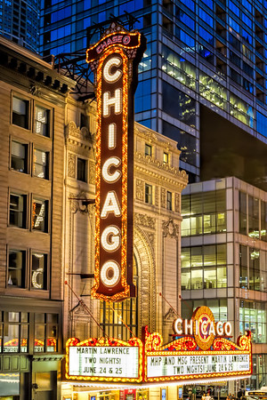 The Chicago Theatre, Chicago, IL