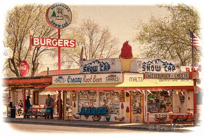 The Snowcap, Route 66, Seligman, Arizona