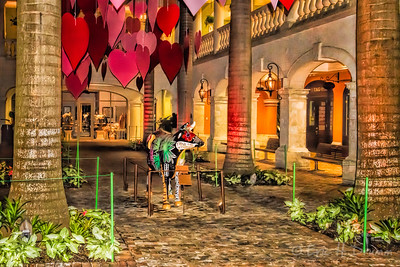 Valentine's Day Interior, Limegrove Lifestyle Centre, Holetown, Barbados