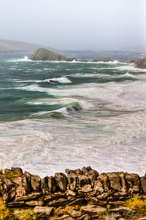 View to Blasket Islands, Slea Head Drive I, Dingle Peninsula, Co Kerry, Ireland