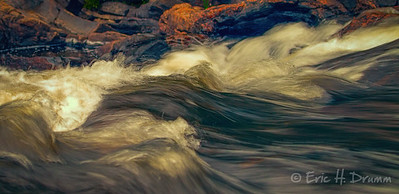 Churning Water, Wilson's Falls, Bracebridge, Ontario