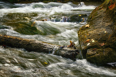 Water Action, Hoggs Falls, Grey County, Ontario