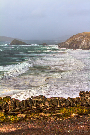 View to Blasket Islands, Slea Head Drive II, Dingle Peninsula, Co Kerry, Ireland