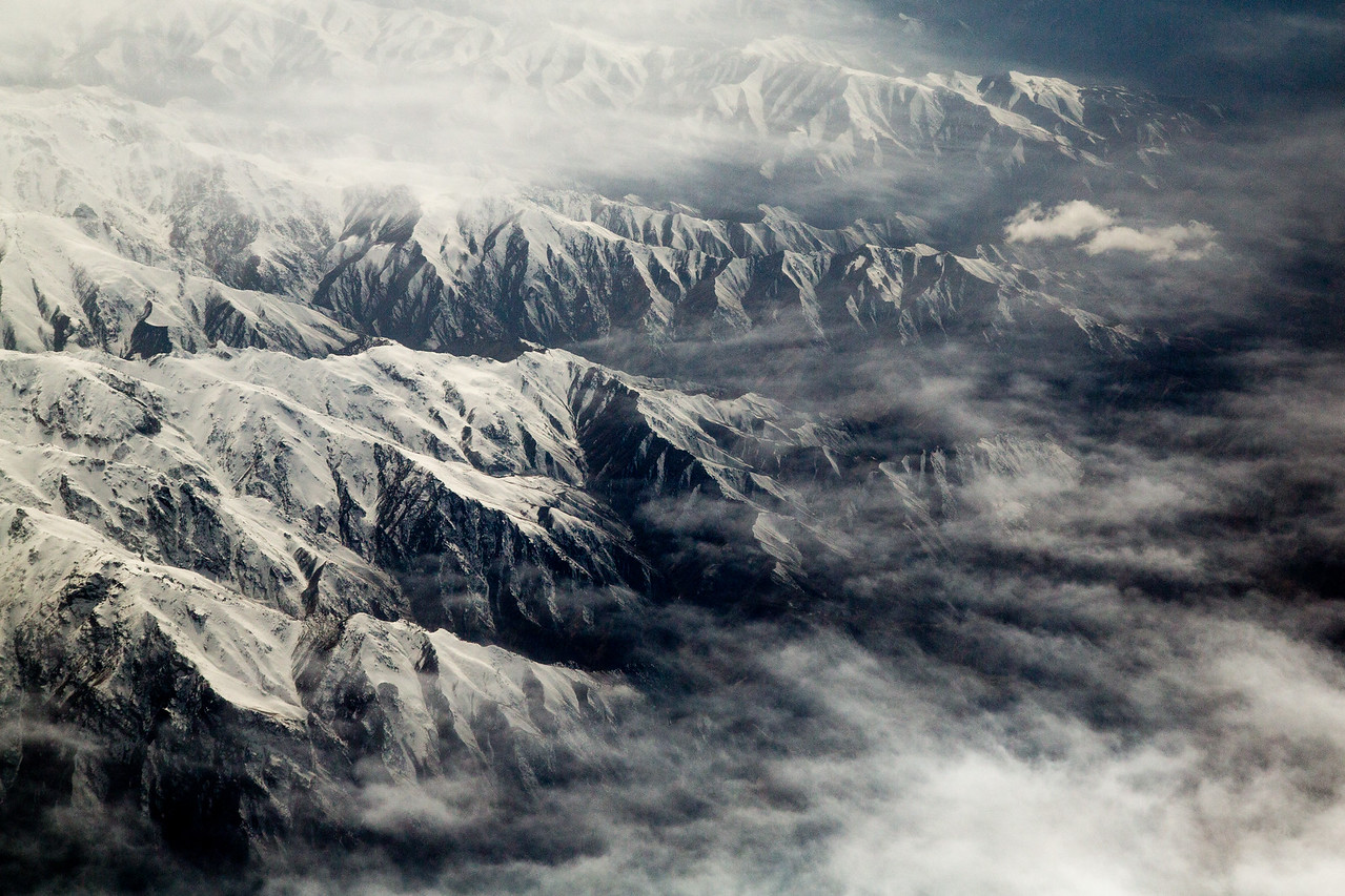 Earlier today I was flying over the snow laden Hindu Kush mountains of Afghanistan. #BBCEarth #EarthOnLocation #Aerial #Planescape #Mountains #Snow #Afghanistan #Plane