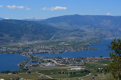 Osoyoos seen from Anarchist Mountain.
