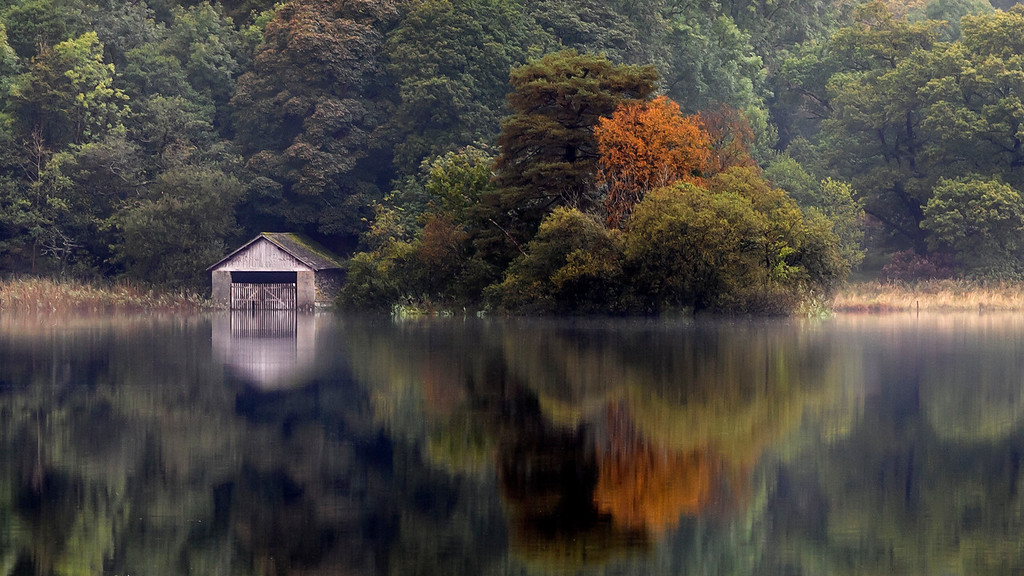 The BoatHouse at Rydal Water