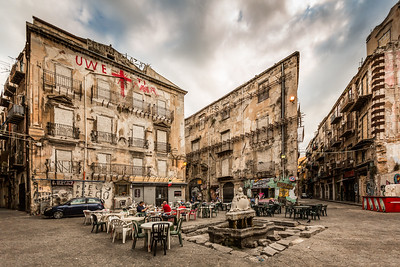 Piazza Garraffello in Palermo