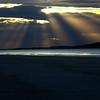 Sunset Luskentyre beach