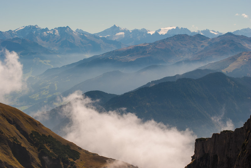 View from Rofanspitz