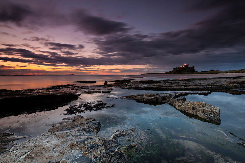 Bamburgh Castle at Dawn