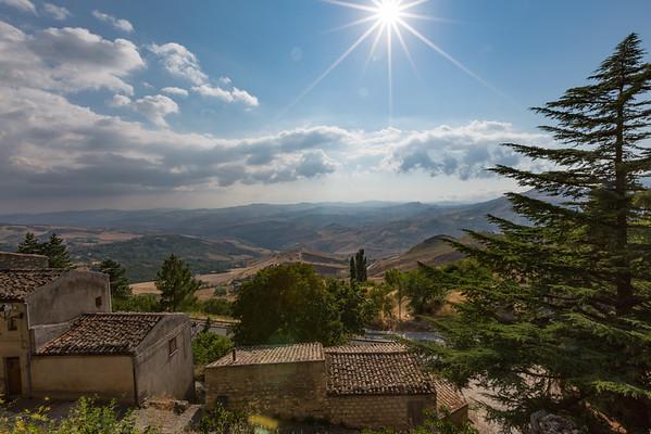Views from Petralia Soprana