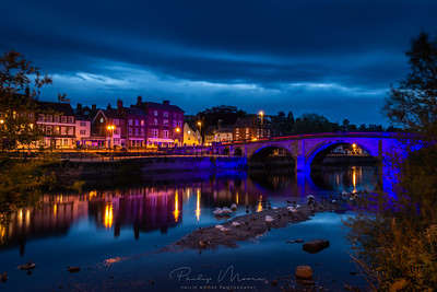 Bewdley in Blue