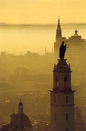 Havana sunrise, Cuba