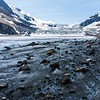 What the glacier leaves behind
