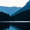 Two Jacks Lake before the sun with Dani LeFrancois