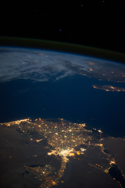 Nile River delta, Egypt