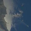 Reid Wiseman @astro_reid  Aug 28 #EarthArt – swirling ocean currents near Italy in sunglint as #Volcano Stromboli smokes away. pic.twitter.com/oV5DxsTSTS