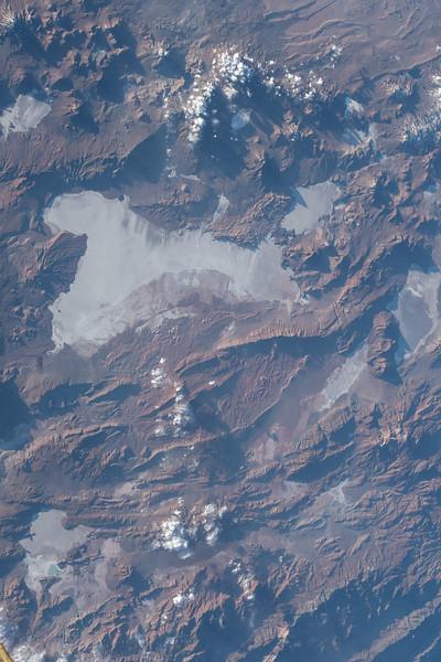 Salar de Arizaro, salt flat in the Andes, Argentina