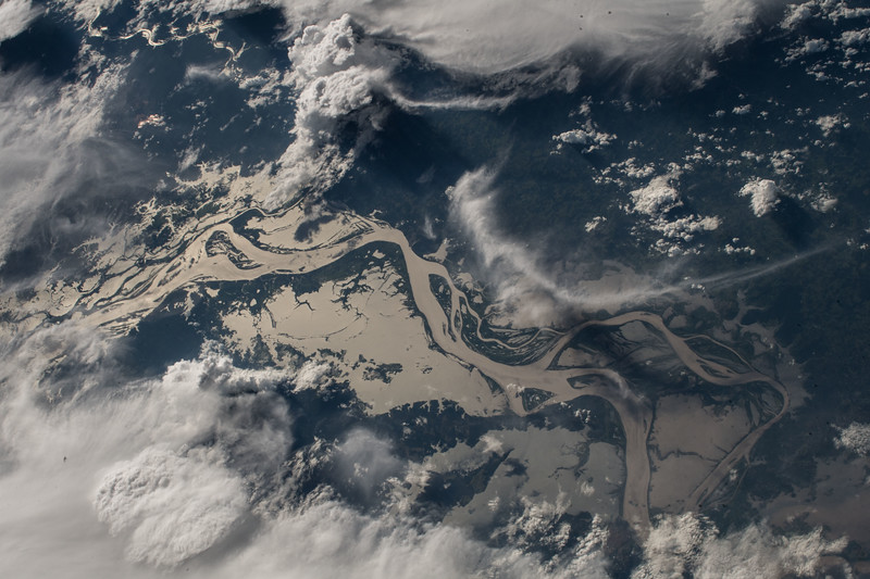 Tapajos River, Brazil - a major tributary of the Amazon River