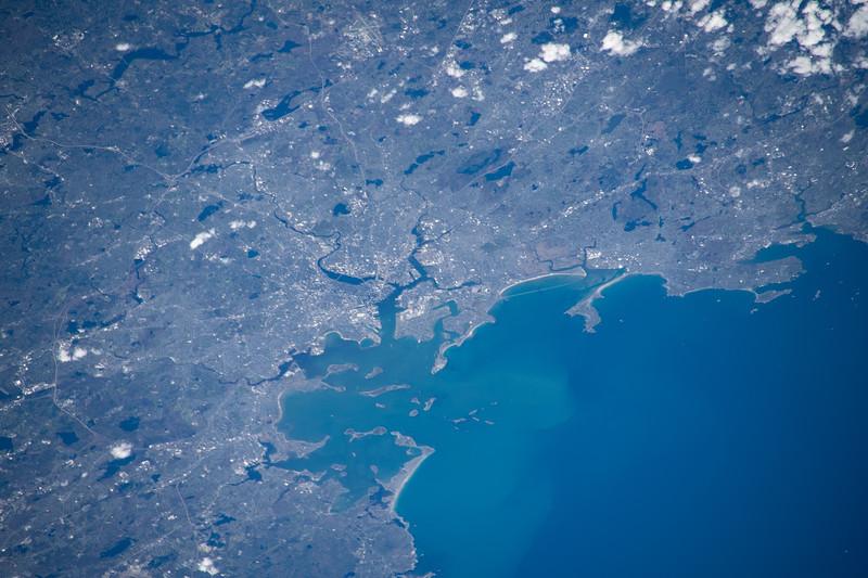 Boston and Boston Harbor, Massachusetts, US