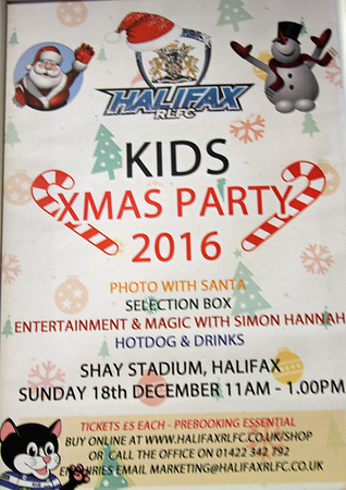 Childrens Christmas Party 2016
