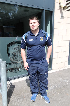Fax Fans walk to Bradford