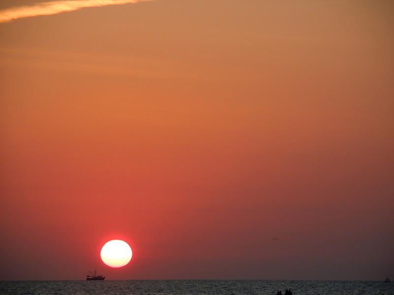 Sunset at Sand bar