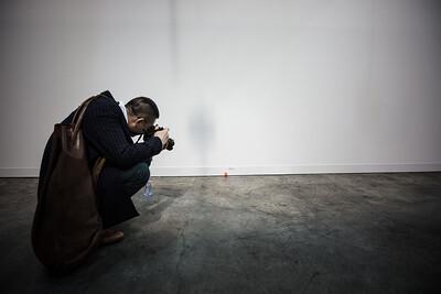 Art Dick installation at Art Basel Hong Kong