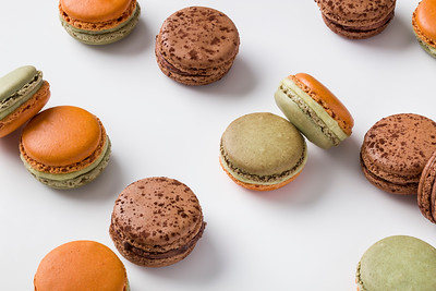 Macarons, BLM and paneiras for the Pierre Herme menu at Morpheus Macau.