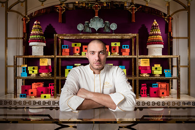 Wynn Macau Executive pastry chef Cristophe Devoille