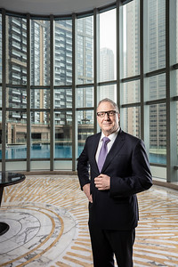 Dominique Berhouet, general manager of the Crowne Plaza hotel in Macau.