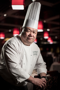 Yap Poh Weng, executive Chinese chef at the Conrad Macao hotel, at Dynasty 8 restaurant