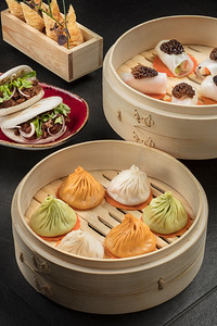Jin Xiang Noodle House in the City of Dreams resort in Macau, China.