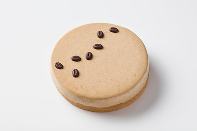 Coffee tart for the Pierre Herme menu at Morpheus Macau.