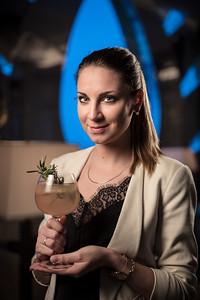 Isabella Vannoni at the Ritz Carlton Macau Bar and Lounge