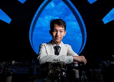 Paul Zhang, Chief Mixologist at the Ritz-Carlton Bar & Lounge.